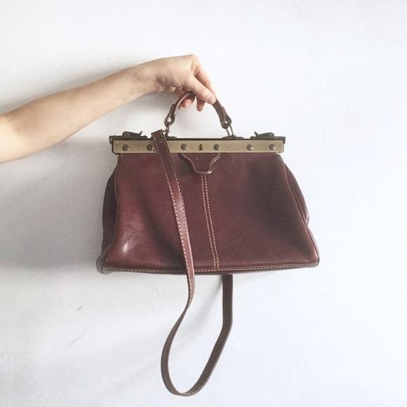 michelangelo doctor gladstone leather bag purse de7ff7795b89c